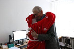 Dean of KTU FMNS assoc. prof. dr. Bronė Narkevičienė is sending warm Christmas wishes for the community of KTU