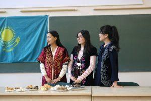 Students from Al-Farabi Kazakh National University internship at the Faculty of Mathematics and Natural science